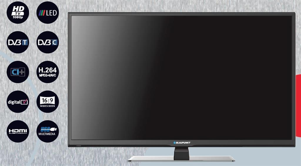 [UPDATE] BLAUPUNKT BLA50/211I 50'' Full HD LED TV voor €353,09 door promotiecode @ Pixmania
