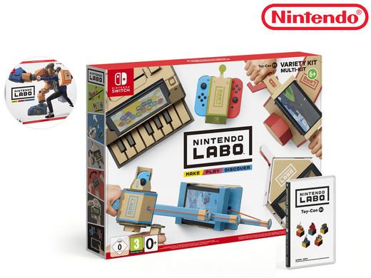 Nintendo Switch: Labo Variety Kit voor €60,90 incl. en Robot €65,90 @ IBood