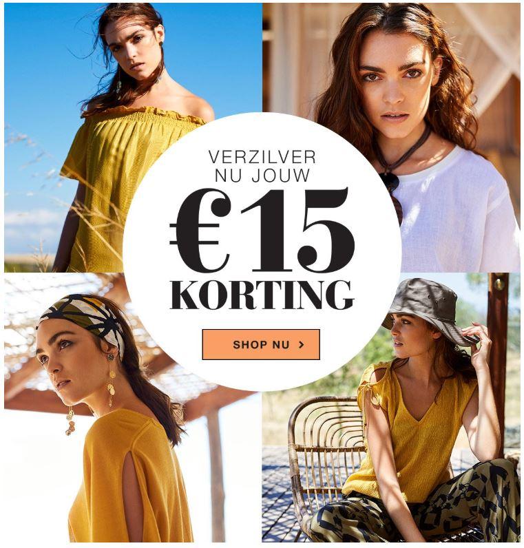 Expresso - nu €15 korting op jouw favoriete look! (bij aankoop vanaf €100)