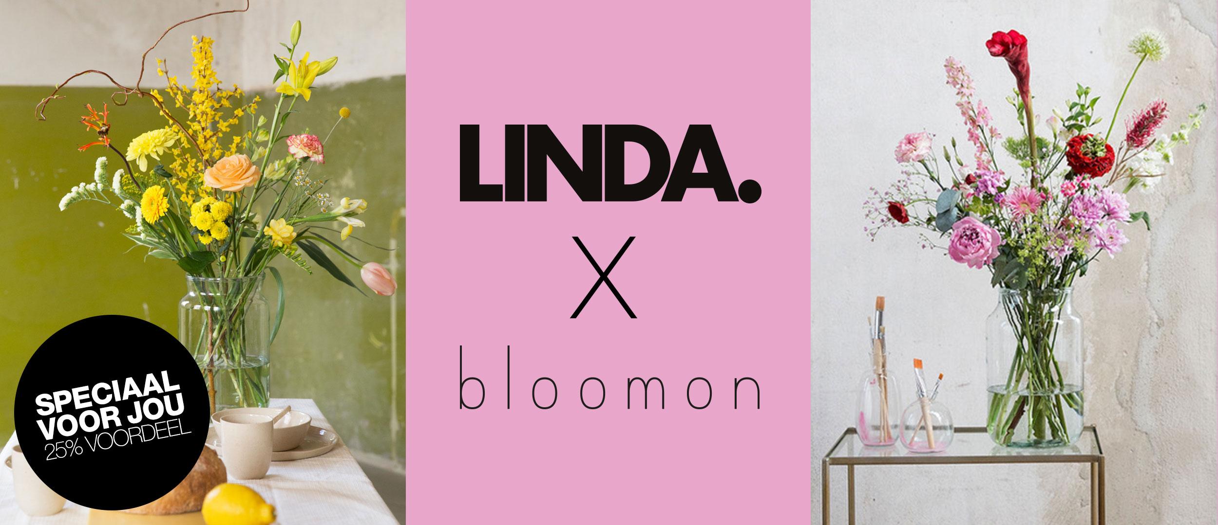 25% korting @ BLOOMON via LINDA