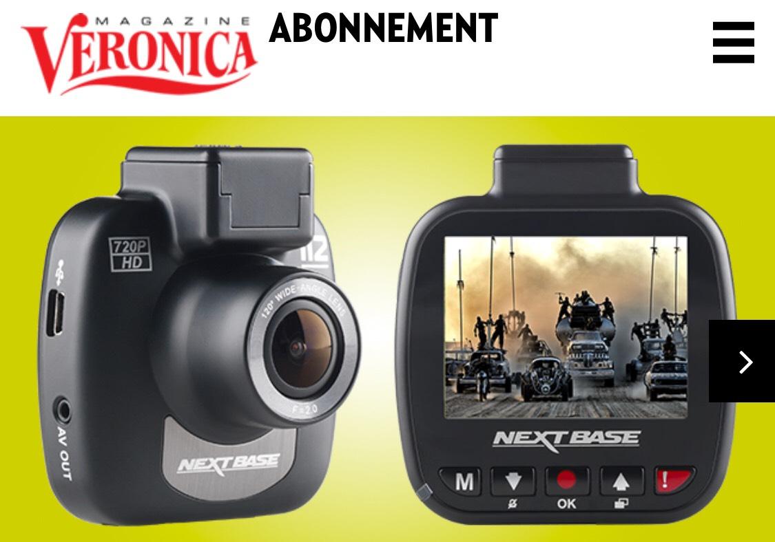 1 jaar Veronica magazine + HD Dashcam 112 GO t.w.v. €79,90