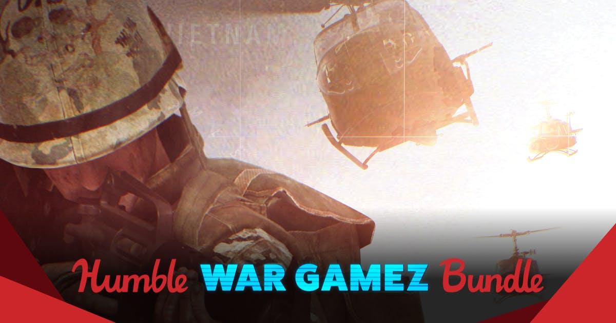 War Gamez Bundle vanaf €0,85 @ Humblebundle