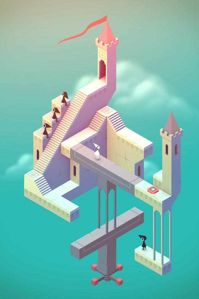 Monument Valley nu tijdelijk gratis ipv €2,99 in de Android Play Store