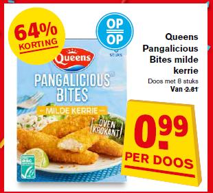 Panga Bites met 64% korting bij Hoogvliet
