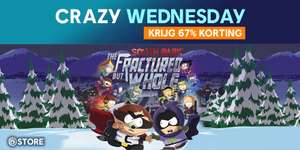 Crazy Wednesday: South Park The Fractured But Whole -STD Edition PC voor €19,80 @ Ubisoft