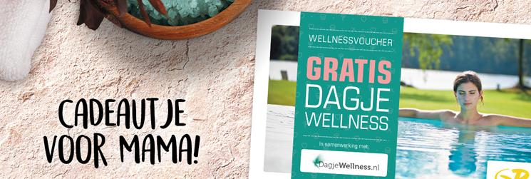Gratis Dagje Wellness bij besteding €25