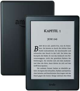 Amazon Kindle 65€ en Amazon Kindle Paperwhite 105€