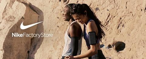 van 10 - 20 mei / 30% korting op ALLE artikelen Nike Factory Stores (Sale artikelen uitgesloten)