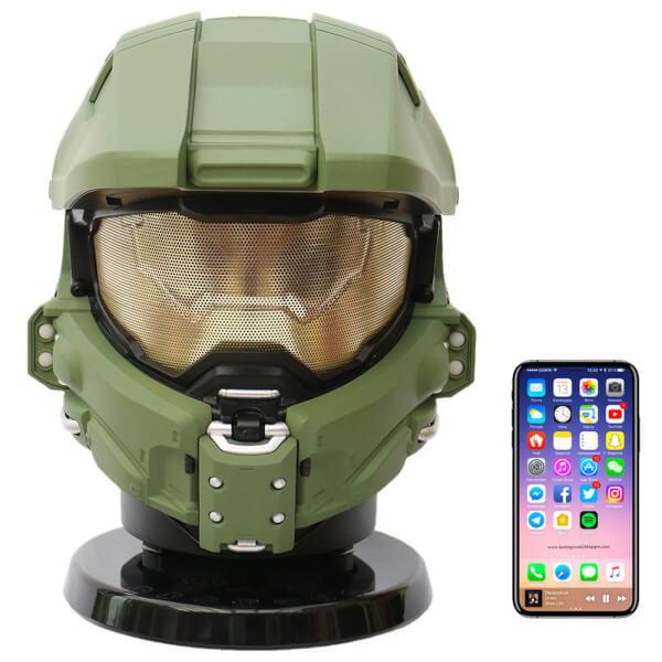 Halo Master Chief Bluetooth NFC Speaker met subWf van 163€ voor 69,59€ @Zavvi