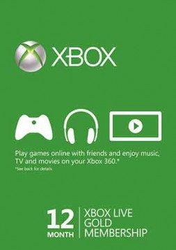 Xbox Live Gold 12 maanden digitale code voor €25,99 (VPN Brazilië) @ Gamesdeal