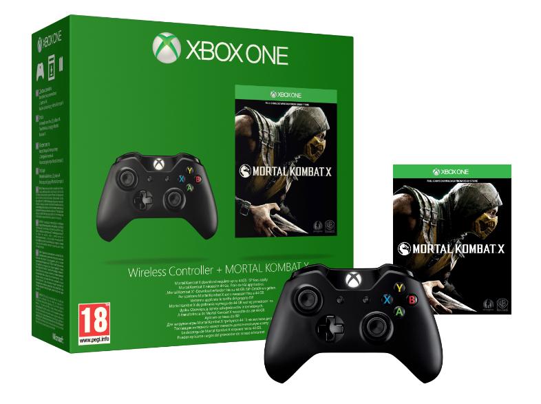Xbox One Wireless Controller + Mortal Kombat X voor €85,45 @ Yourgamezone