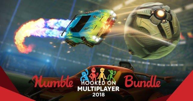 Hooked on Multiplayer 2018 bundle vanaf €0,85 @ Humble Bundle