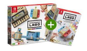 Nintendo Labo Mixpakket + Labo Toy-Con Decoratieset (Switch) voor €66,01 @ Gameoutlet