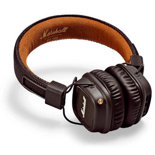 Marshall Major 2 Bluetooth Brown