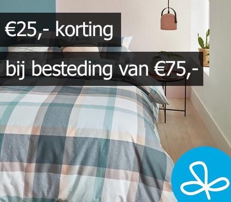 Bedsupply - 25€ korting bij besteding van €75 euro.