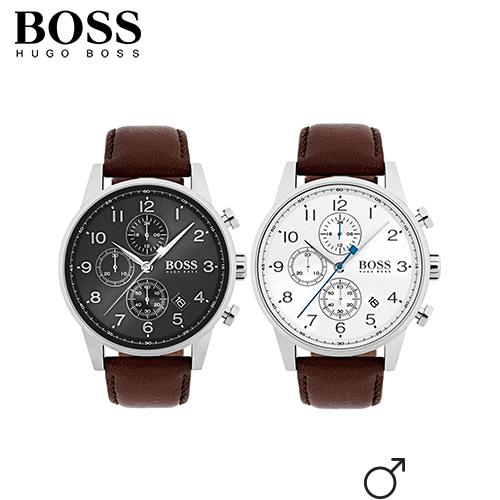 Twee modellen Hugo Boss voor 50%