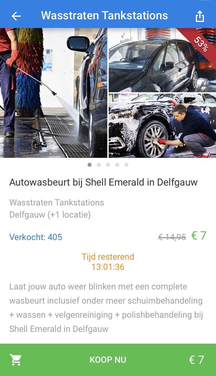 """[UPDATE!]""""ONBEPERKT"""" Autowassen duurste programma voor €7,- regio Delft, Den Haag"""