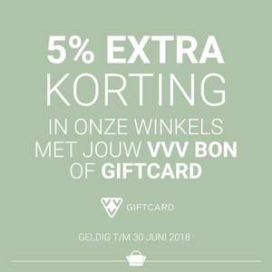 5% extra korting met VVV bon/card @ the little green bag - ALLEEN IN DE WINKELS