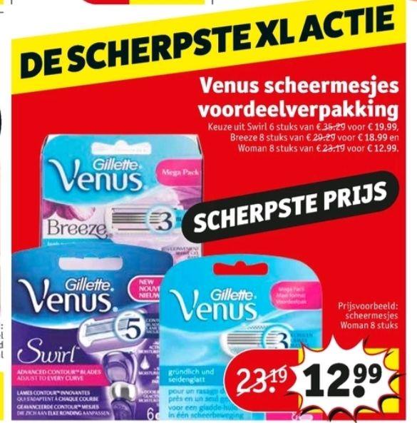 @Kruidvat Venus scheermesjes voordeelverpakking