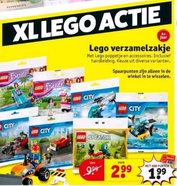 @Kruidvat Legoverzamelzakje & minecraft mini figuur