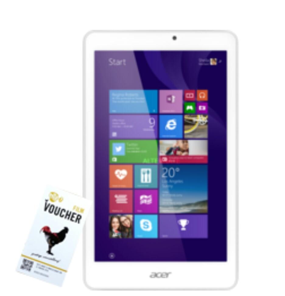 Acer Iconia Tab 8 W1-810 + Pathe filmvoucher voor €99,90 @ Alternate