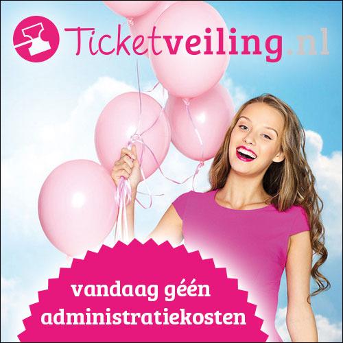 Super monday: vandaag geen administratiekosten @ Ticketveiling (extra dag)