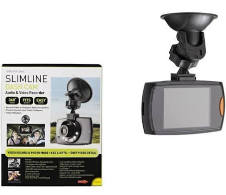 Soundlogic Slimline Full HD Dashcam voor €11,19 @ Kruidvat
