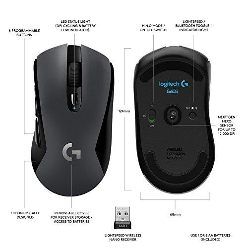 Logitech G603 voor 44,- @Amazon.de