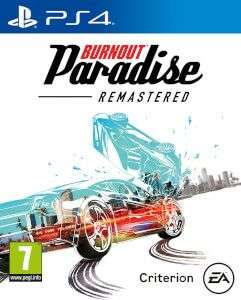 Burnout Paradise Remastered PS4/XB1 voor €20,99