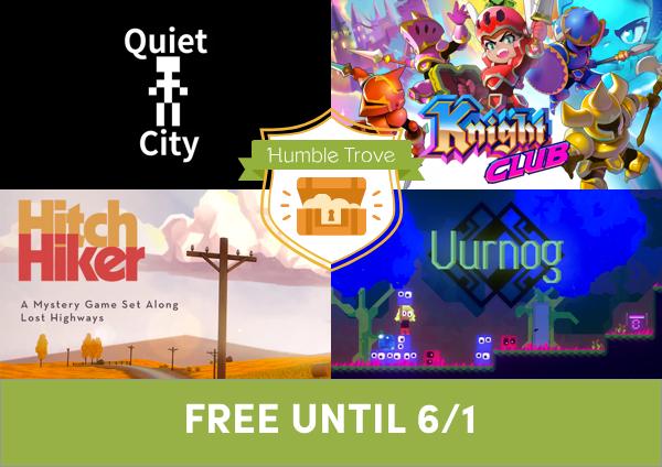 4 DRM-free games tijdelijk gratis @ The Humble