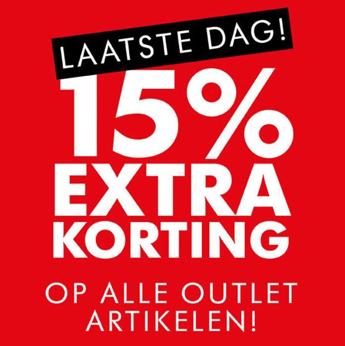 Met code 15% extra korting op outlet @ After Eden