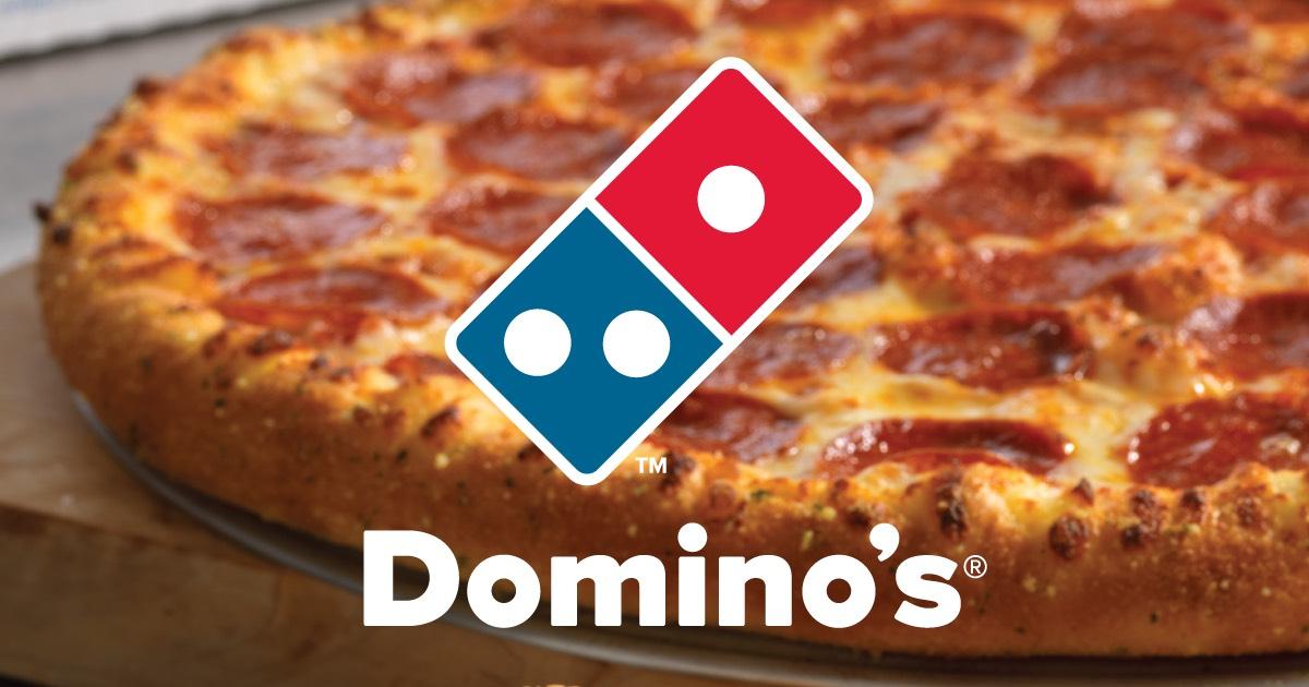 25% korting op je bestelling (excl. actiepizza & Ben & Jerry's) @Domino's