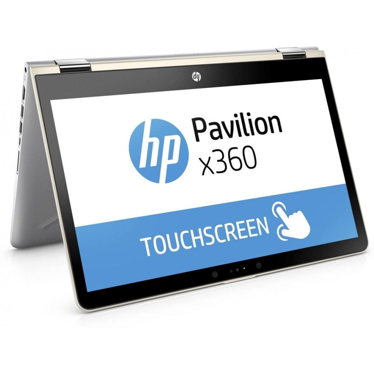 HP Pavilion x360 14 inch laptop (i3, 128GB SSD, touchscreen)