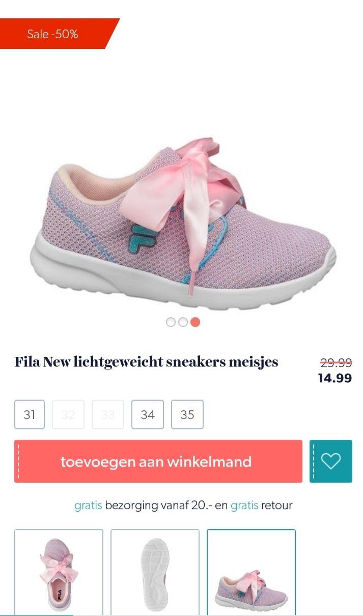 @wehkamp Fila sneakers