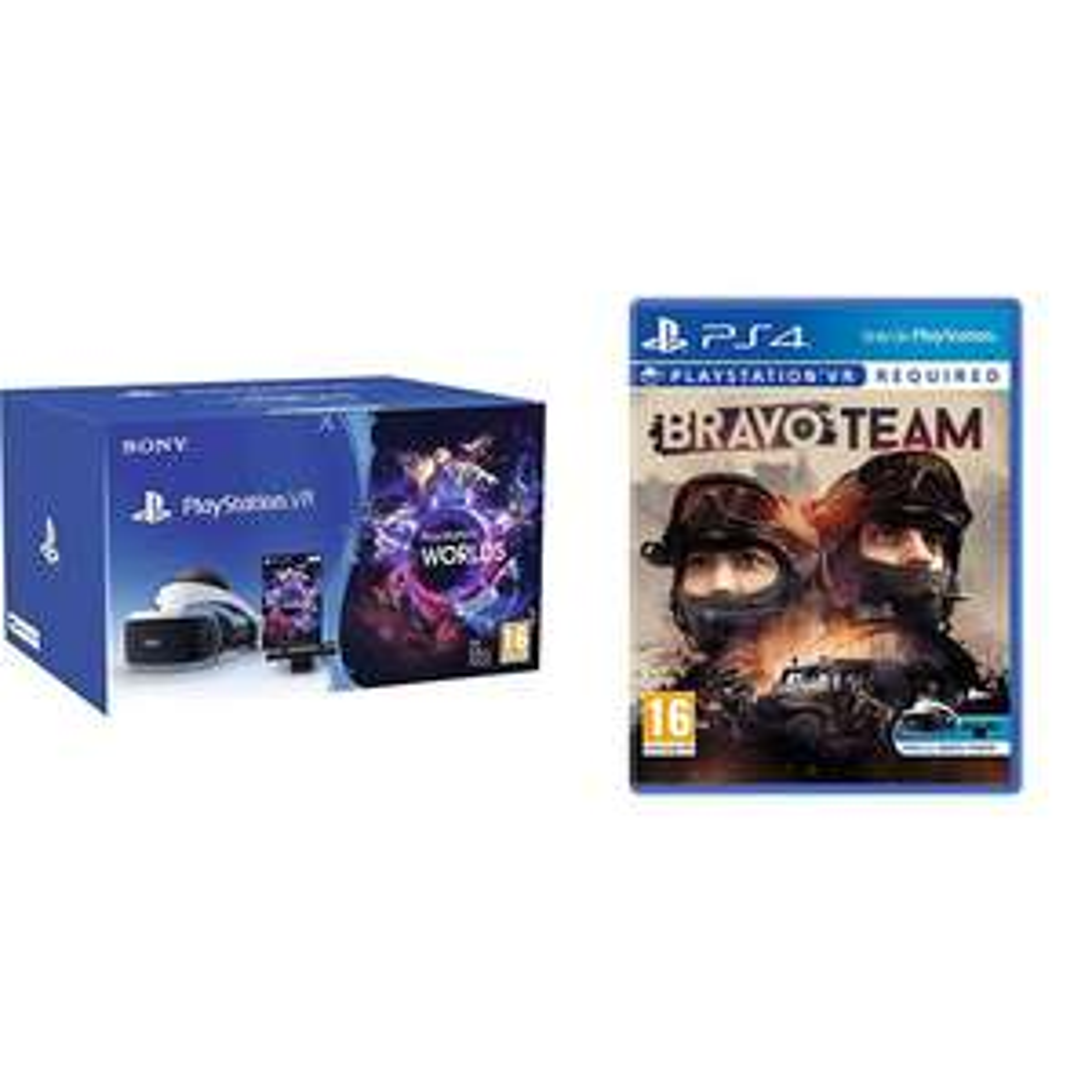 Sony PlayStation VR Worlds Pakket V2 + Bravo Team voor €249 @ Coolbue