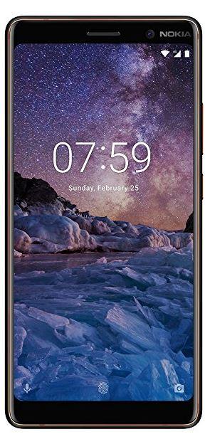 Nokia 7 plus (zwart) voor €313,49 incl verzenden @ Amazon.it + App!