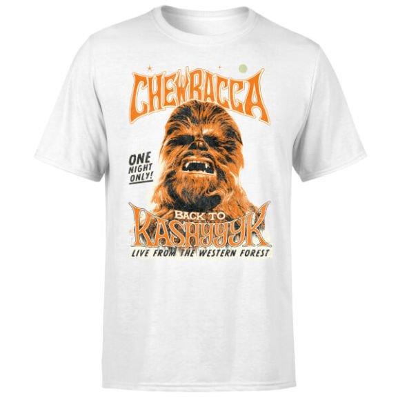 Star Wars - Chewbacca T-Shirt voor €10,99 @ Zavvi.nl