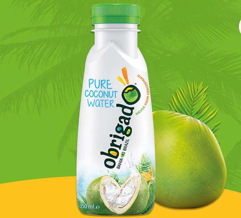 GRATIS Obrigado 100% puur kokoswater @Scoupy