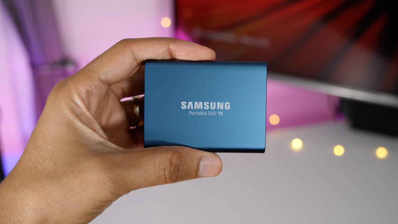 Samsung Portable SSD T5 250GB (Amazon.de)