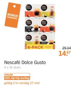 Dolce gusto koffie!