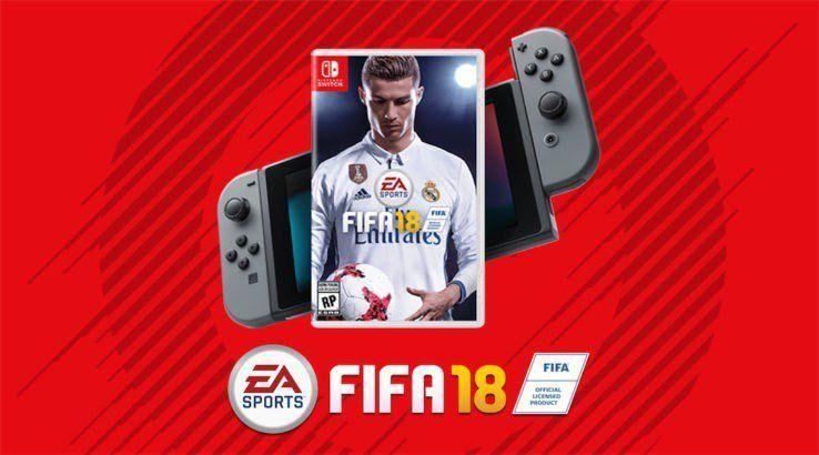 FIFA 18 Nintendo Switch eshop aanbieding