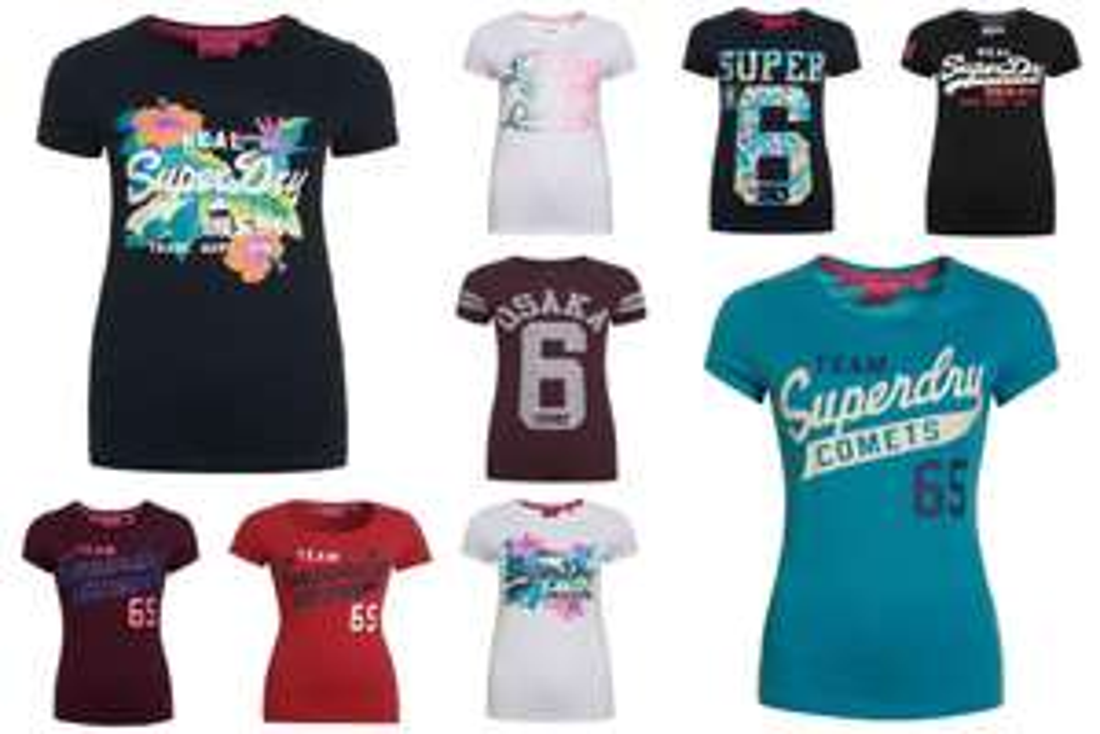 Superdry dames t-shirts [Ebay-de]