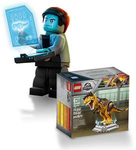 [BE] 100 x LEGO Limited-Edition Jurrassic World T.Rex (4000031) te winnen @Dreamland.be