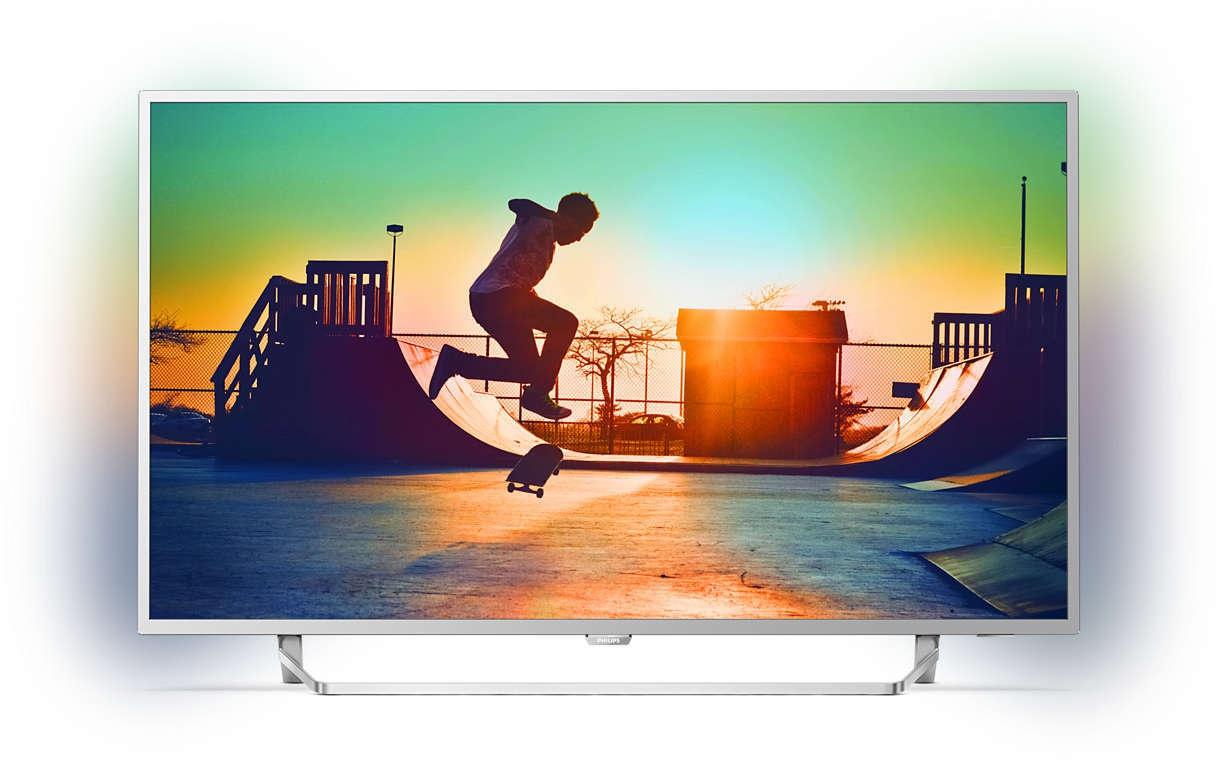 Philips 49PUS6412 4K Ultra HD TV - 49 inch voor €479 @ AO.nl