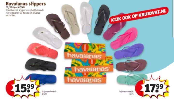 @Kruidvat Havaianas slippers