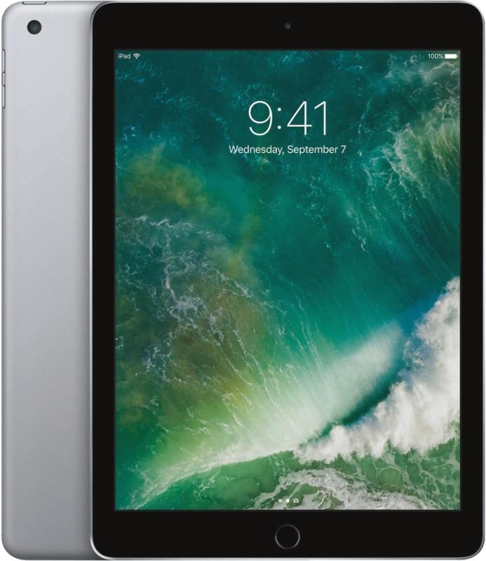 Apple iPad Wi-Fi 32GB (2017) Grijs @ EP