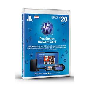 3x PlayStation Network voucher 20 euro (60 euro PlayStation tegoed) voor €46,44 door code @ Wehkamp