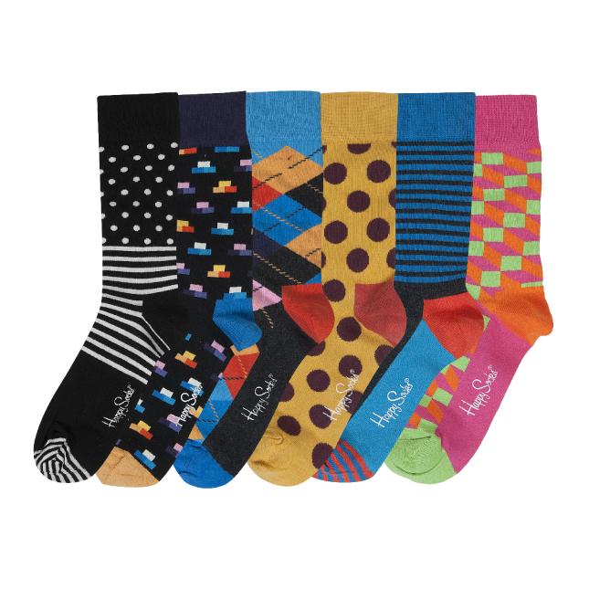 Happy socks weekaanbieding (€4 bij de Zeeman)