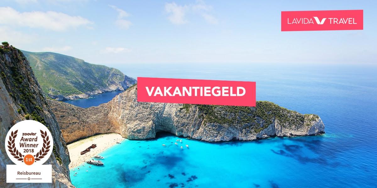 €20 extra korting op je vakantie met kortingscode VAKANTIEGELD18 @ Lavida Travel