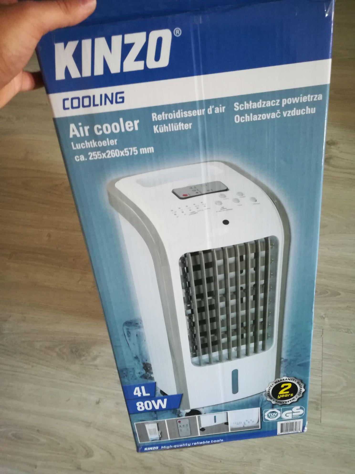 Kinzo Air Cooler @ action